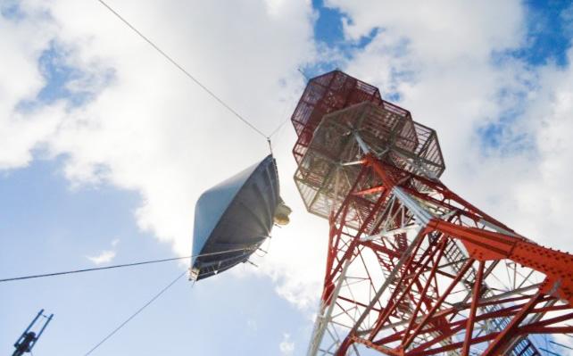 電力会社 マイクロ多重無線設備更新工事(北陸:福井県)