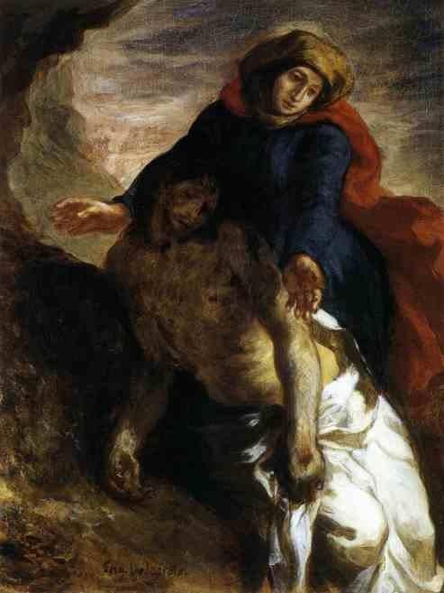 Pietà. 1850