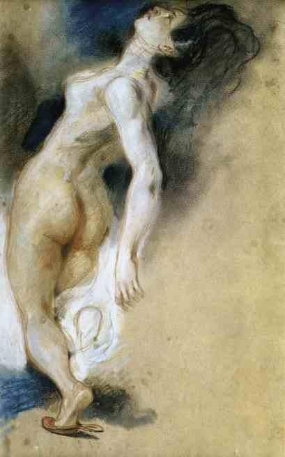 Женщина, убитая в спину. 1827