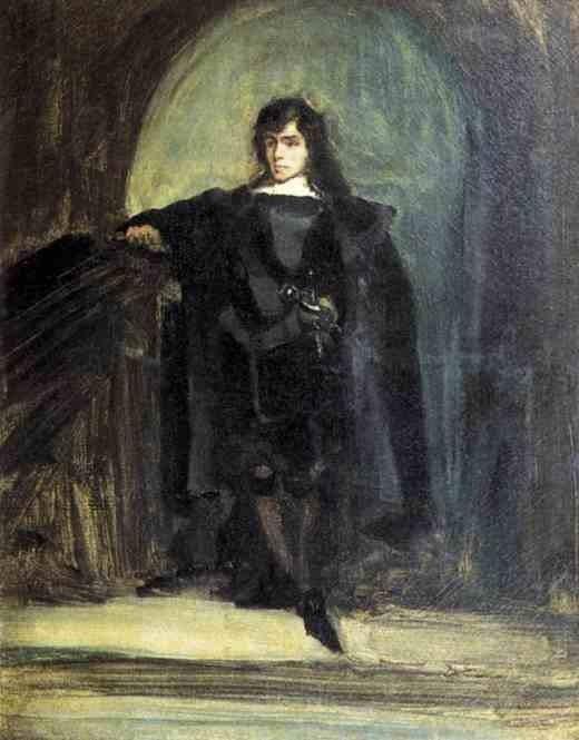 Автопортрет в Рейвенсвуде. 1821