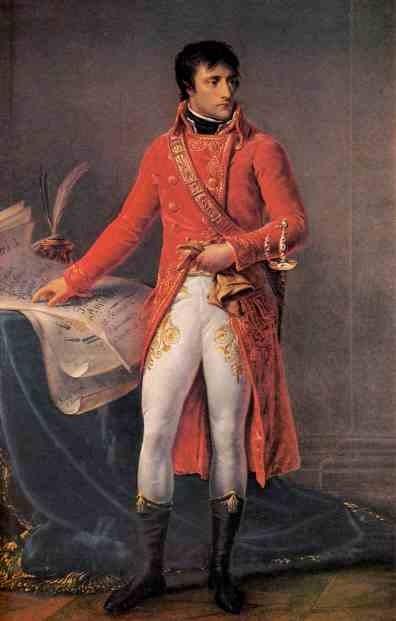Портрет консула Бонапарта. 1802