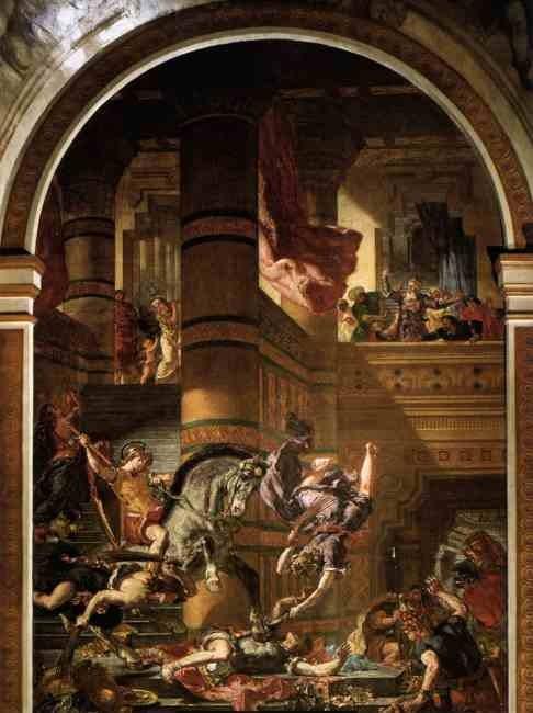 Илиодор изгоняется из храма. 1854-61