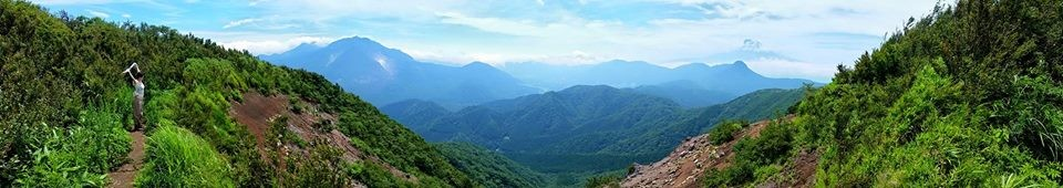Near Hakone, you can go on great hiking trips!