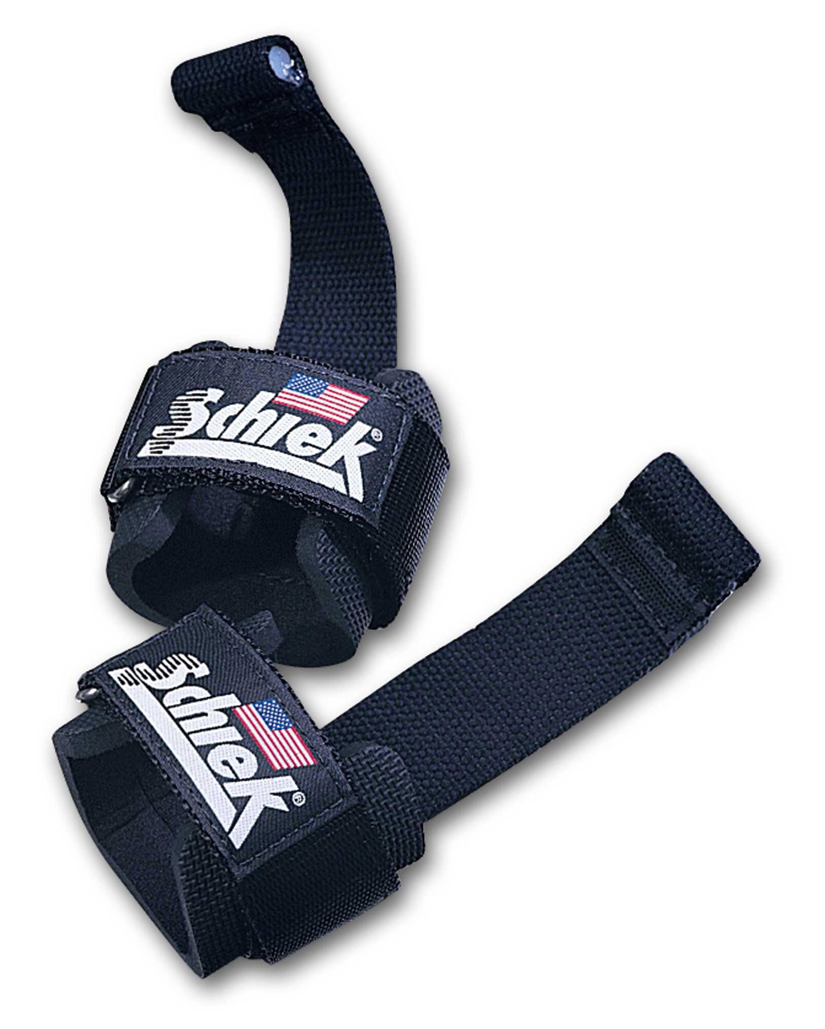 Schiek Sports Handgelenkschutz mit Zughilfen Modell 1000DLS Dowel Lifting Straps