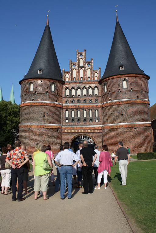 Das Holstentor zu Lübeck