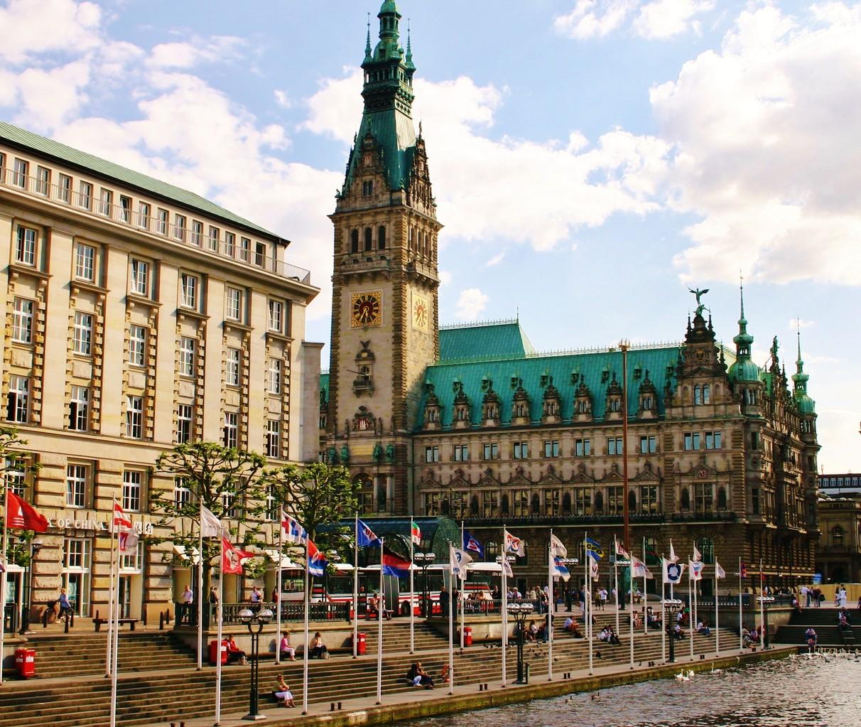 Hamburgs schönes Rathaus