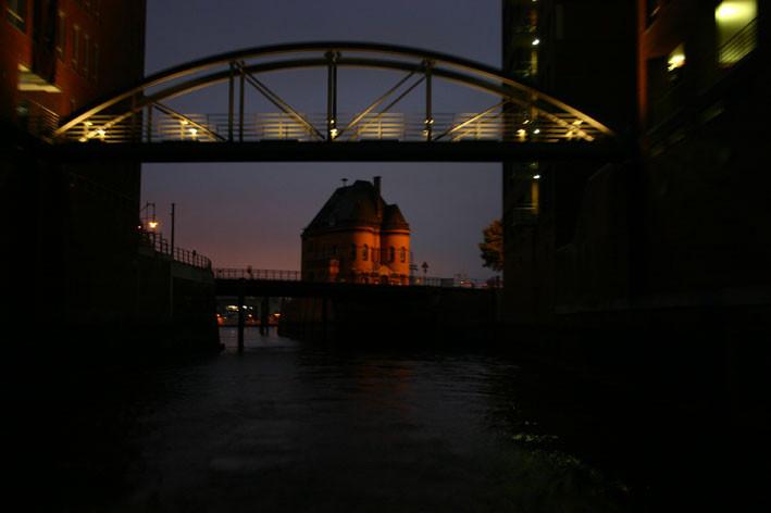 Die alte Speicherstadt Hamburgs