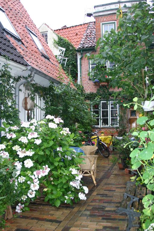 Lübecks schöne Hinterhöfe