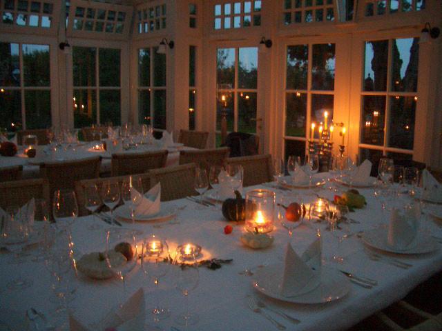 """Die """" Villa Martha"""" in abendlicher Stimmung"""