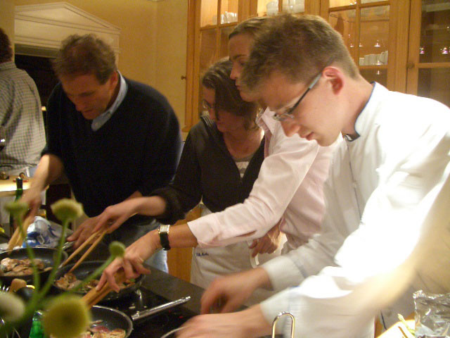 "Team- Kochen in der ""Villa Martha"" am Ratzeburger See"