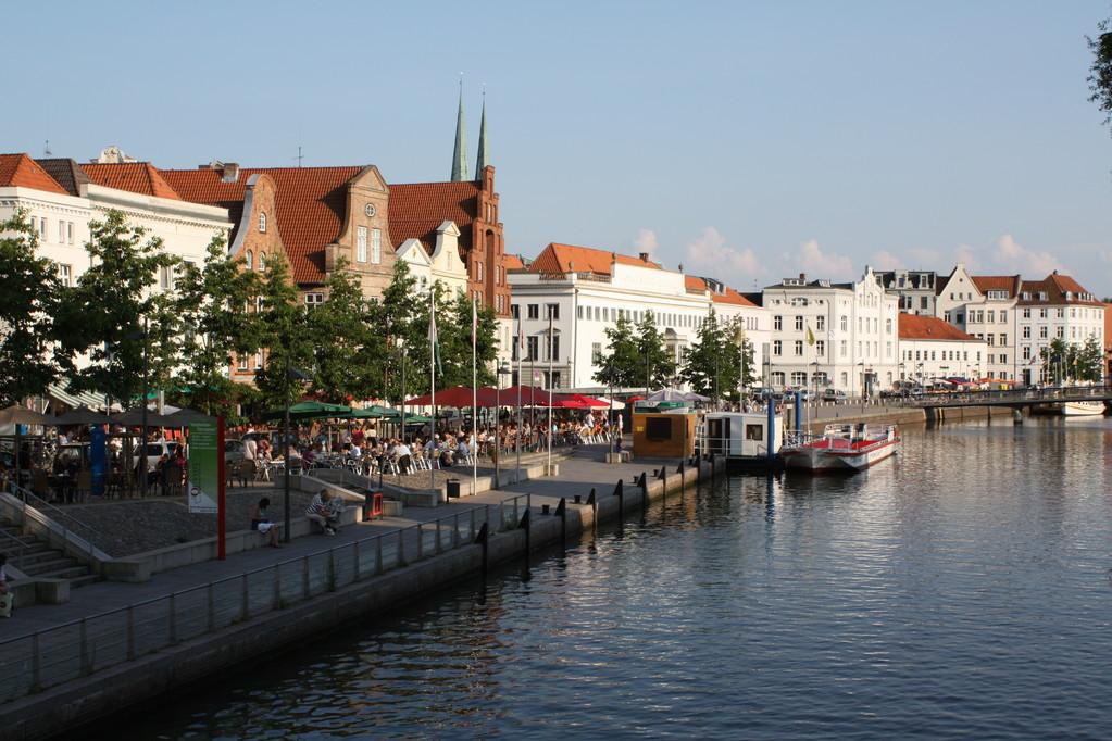 Romantisches Lübeck an der Trave
