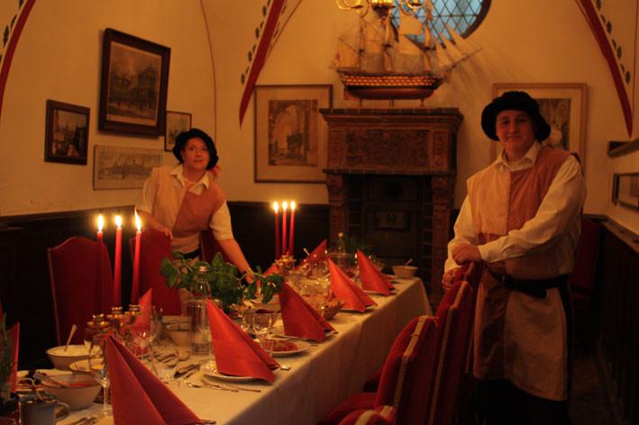 Herzlich Willkommen zu einer Hanse-Tafel in Lübeck