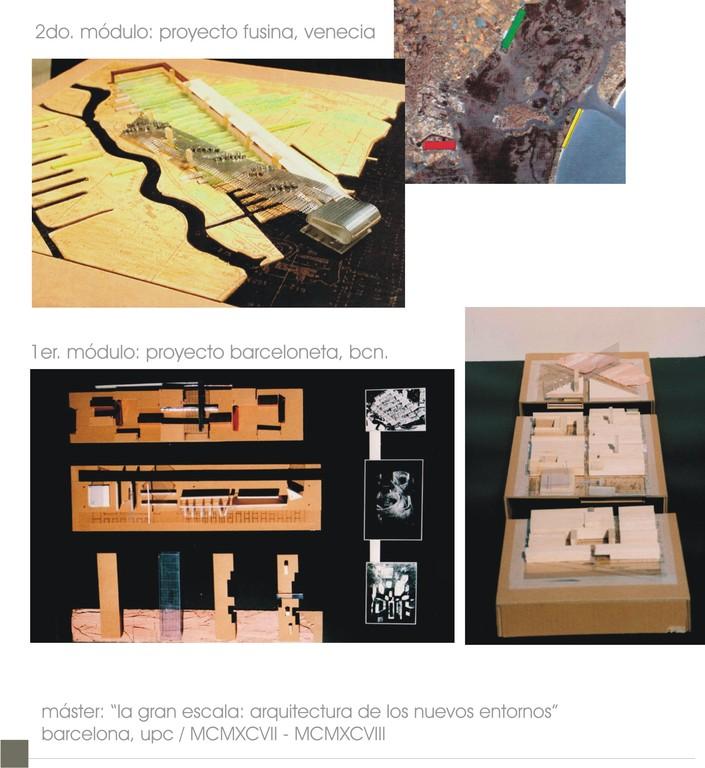 Proyectos Máster: Barcelona + Venecia (1997-1998) / UPC