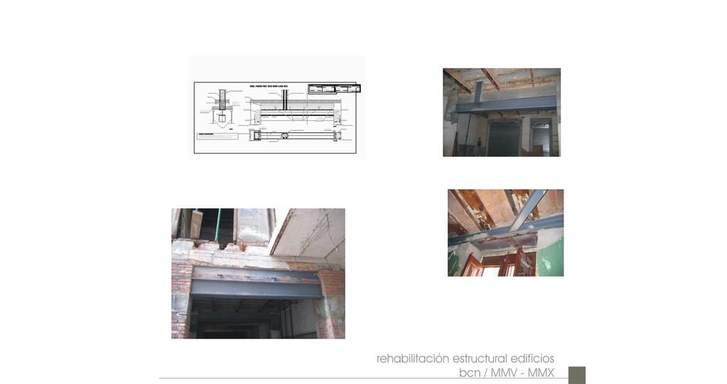 Rehabilitación estructural (2005-2010) / A+C