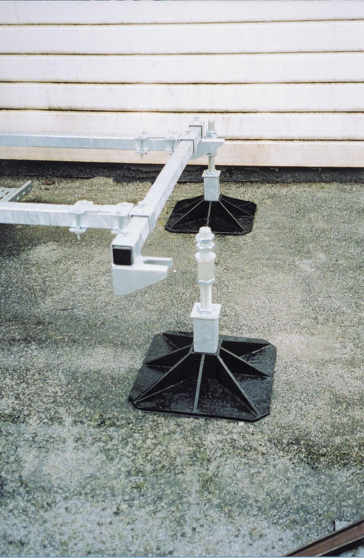 Entfernen des Beines nach der Installation ist möglich