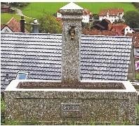 Dorfbrunnen Granit