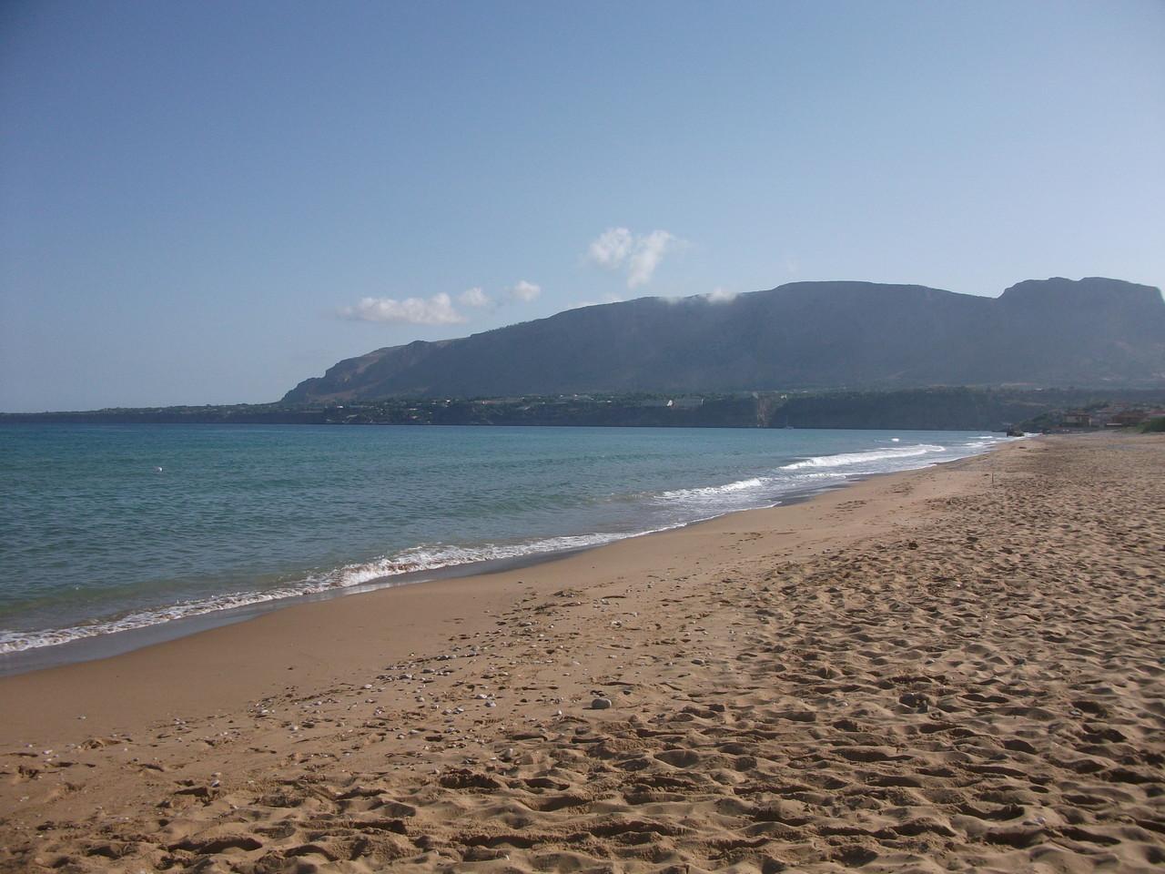 La spiaggia a città del mare