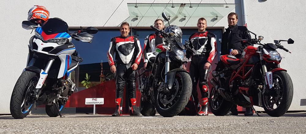 Seebach, Motorradweihe - 6. Mai 2018