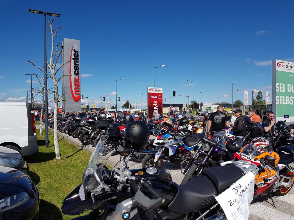 12. Mai 2017 - Biker Treffen max.center