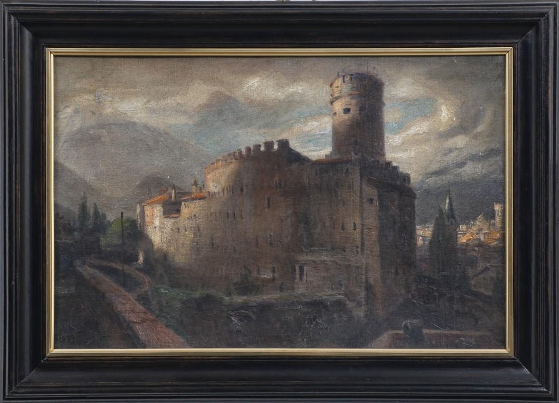 """""""Trient"""", Öl, 34 cm x 52 cm"""