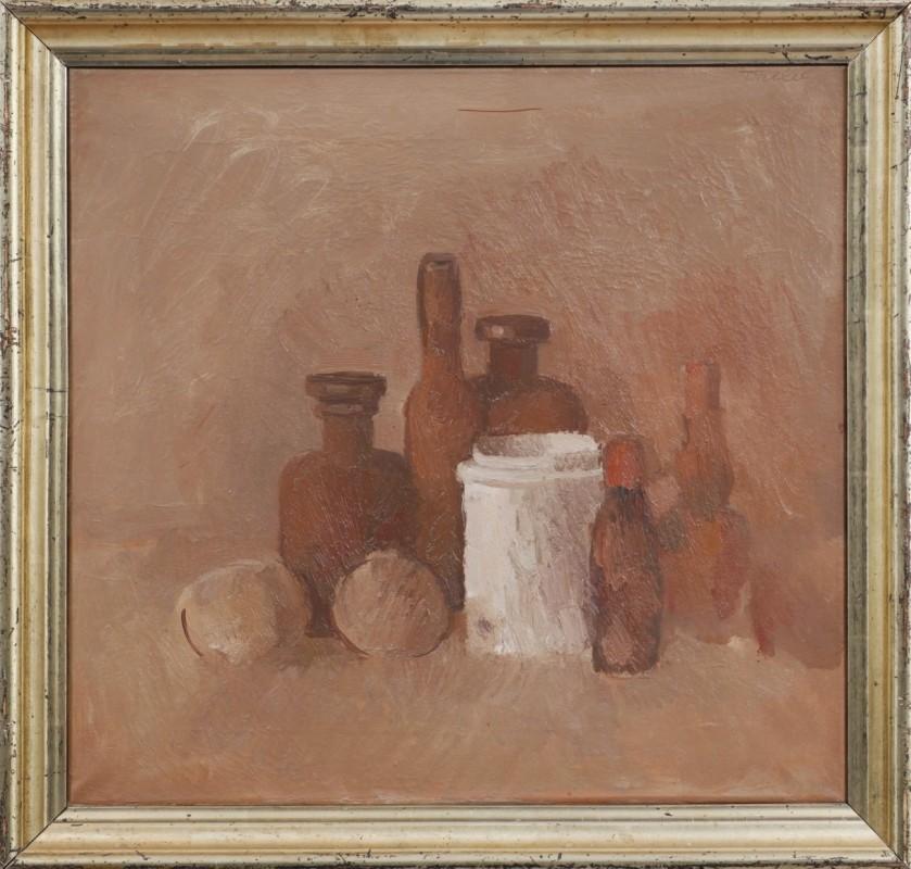 Stilleben, Öl auf Leinwand, 40 cm x 42 cm