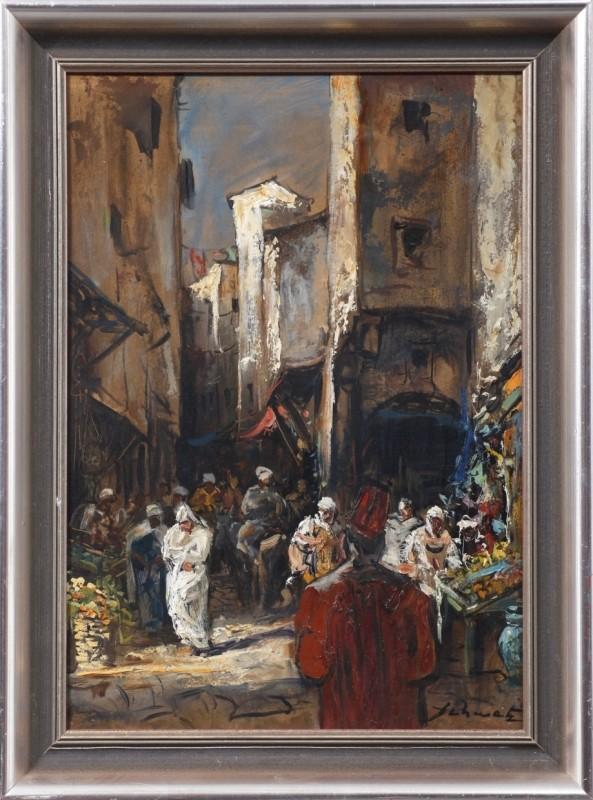 Kairo, Öl, 50 cm x 35 cm