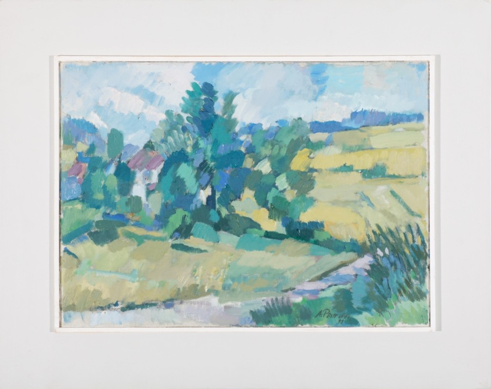 Waldviertel, Öl auf Leinwand, 35 cm x 48 cm