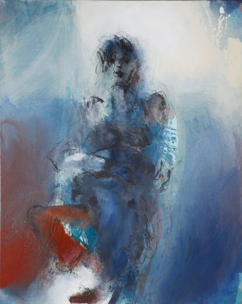 Figur, Acryl auf Leinwand, 100 cm x 80 cm