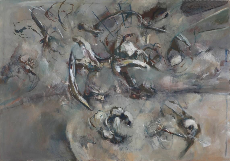 abstract, Öl auf Leinwand, 70 cm x 100 cm