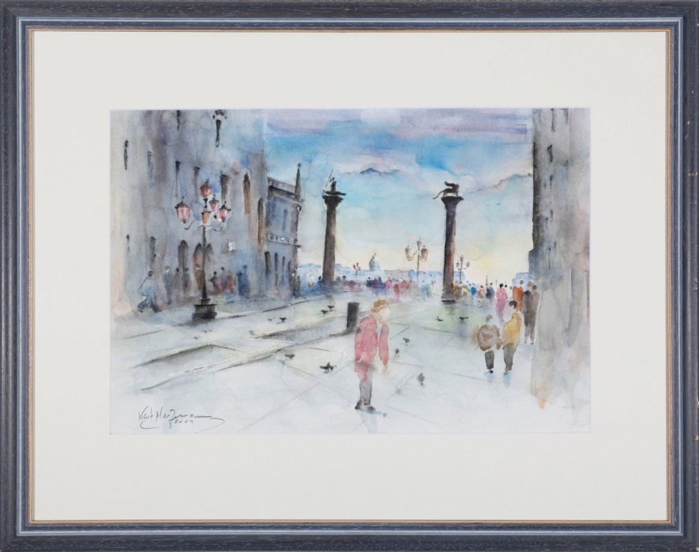 """Venedig"", Aquarell, 31 cm x 46 cm"