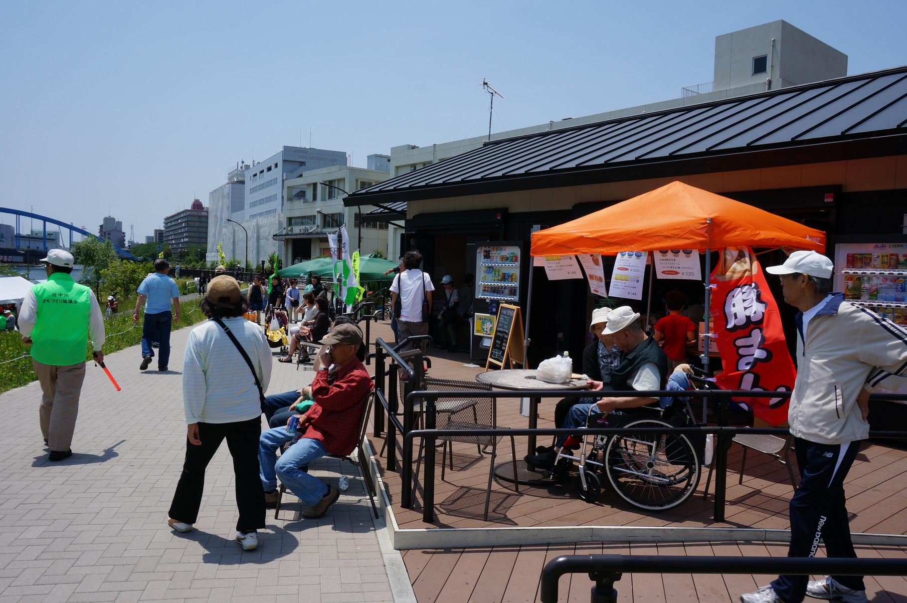 いよいよ待ちに待った「第1回中川そらまめ祭り」の当日がやってまいりました!