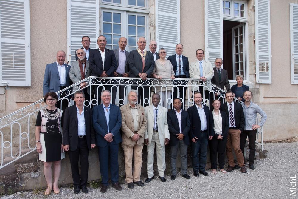 Les membres du Rotary Club de Gray présents le 29 juin