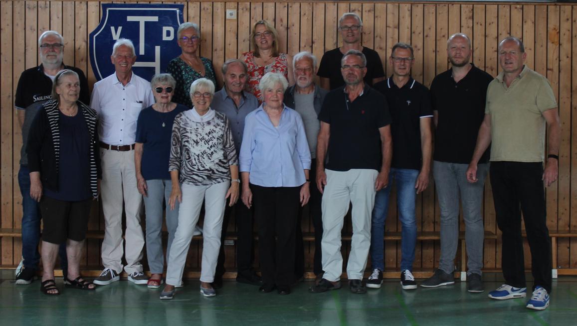 TvdH ehrt langjährige Mitglieder