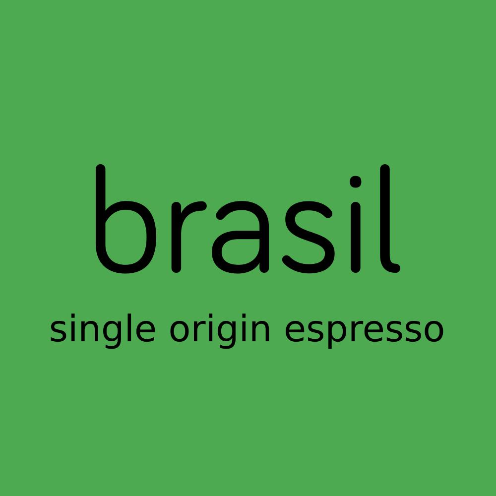 brasil, single origin espresso