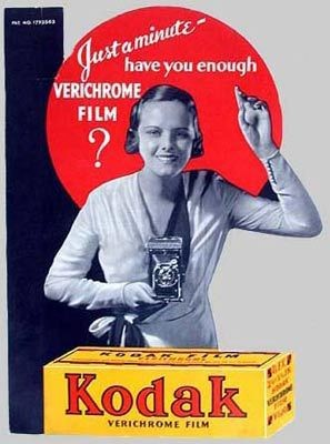 película pancromática Verichrome
