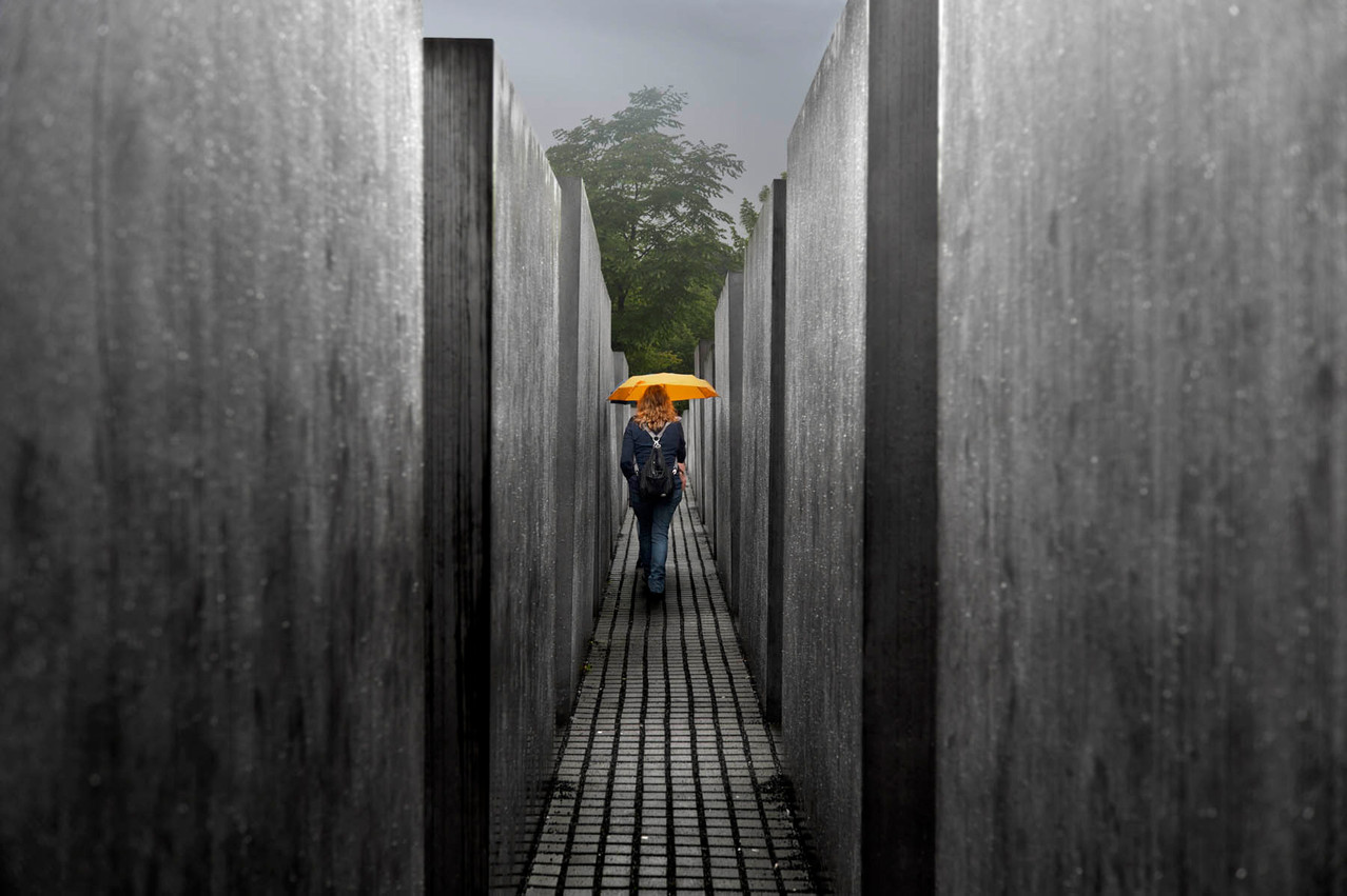 Rain and tears in Berlin