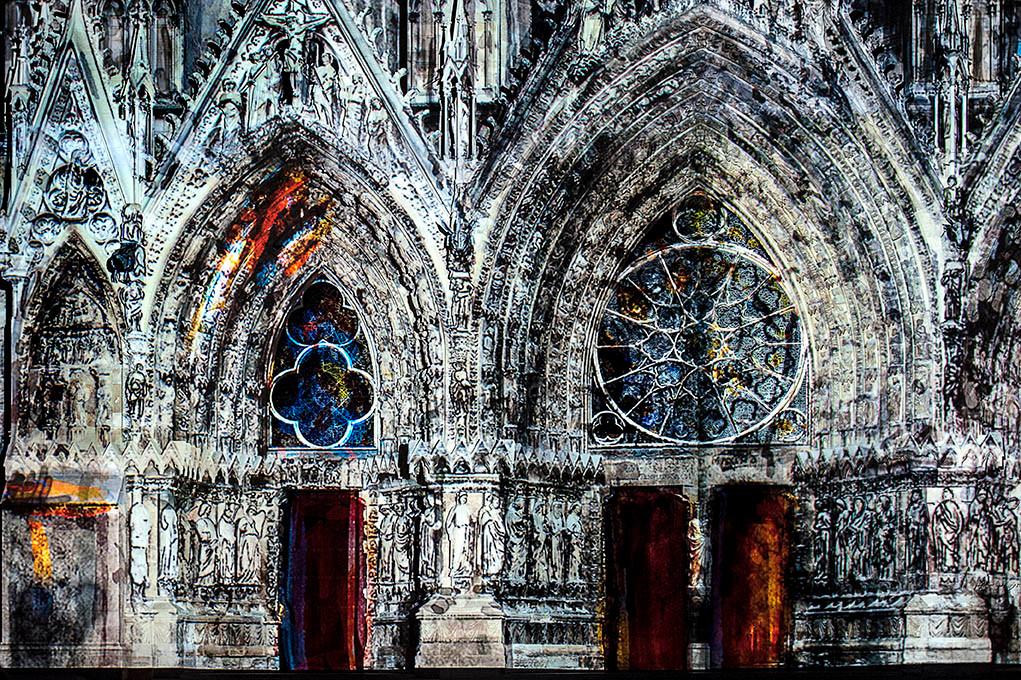 La Cathédrale rêvée (Reims, France)