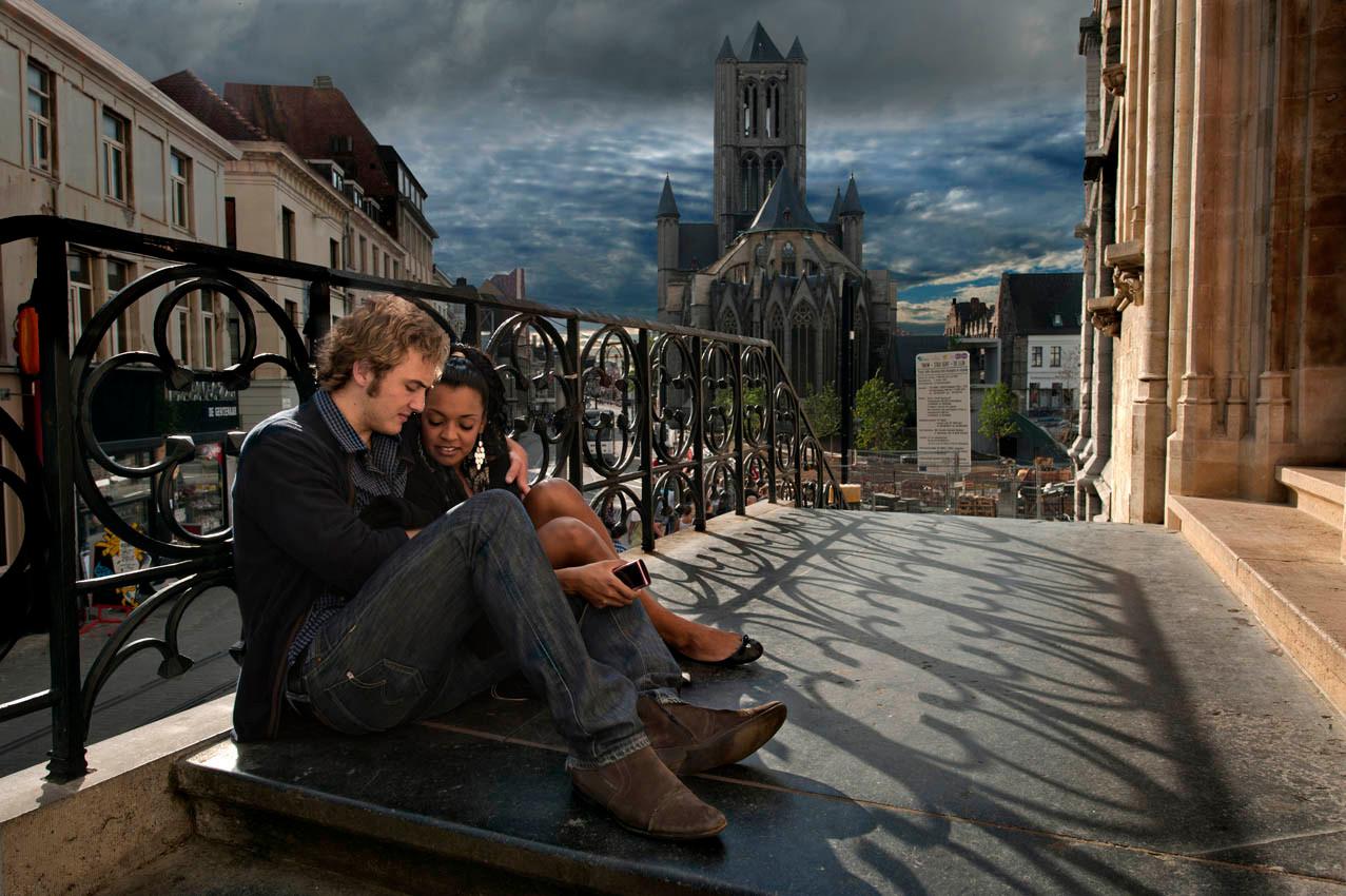 Some day in Gent (Belgium)
