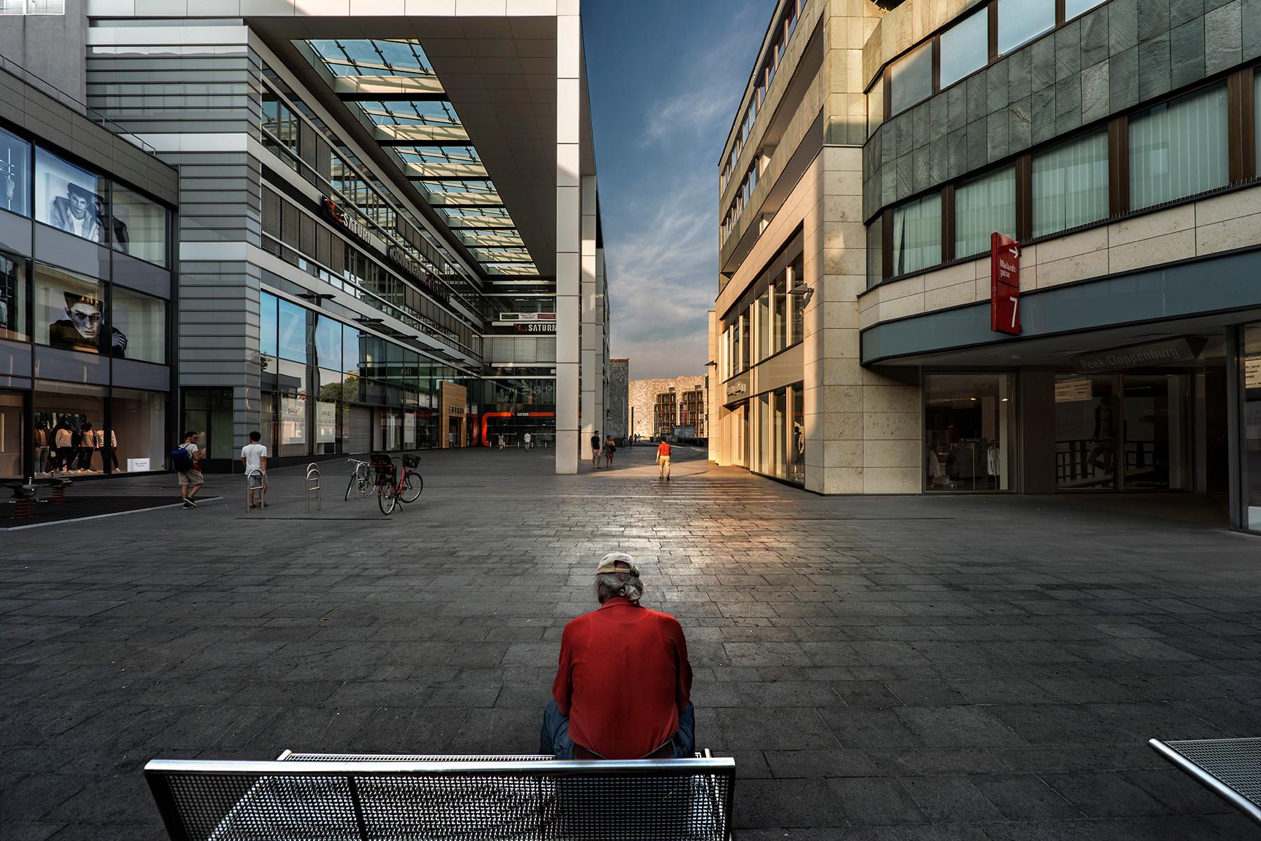 Solitary man (Mainz, Germany)