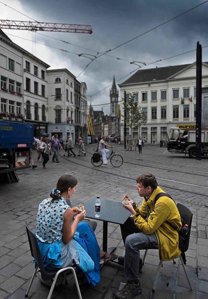 The break (Gent, Belgium)