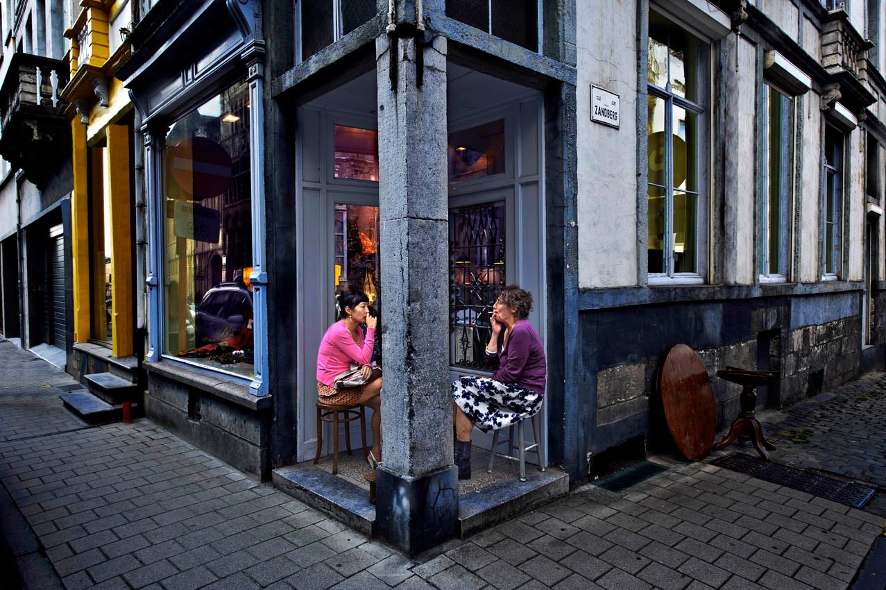 The corner (Gent, Belgium)