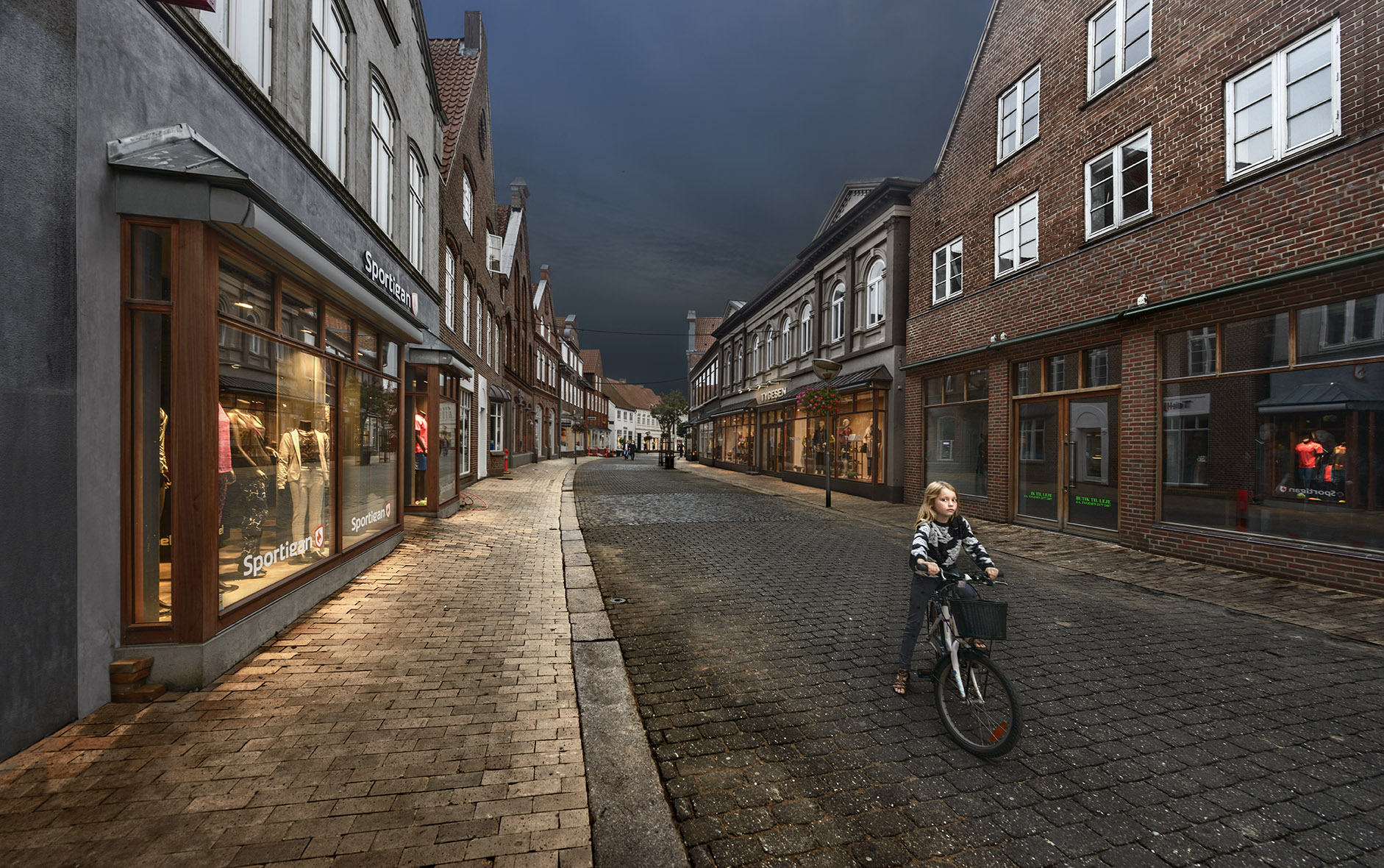 Small town romance (Tonder, Denmark)