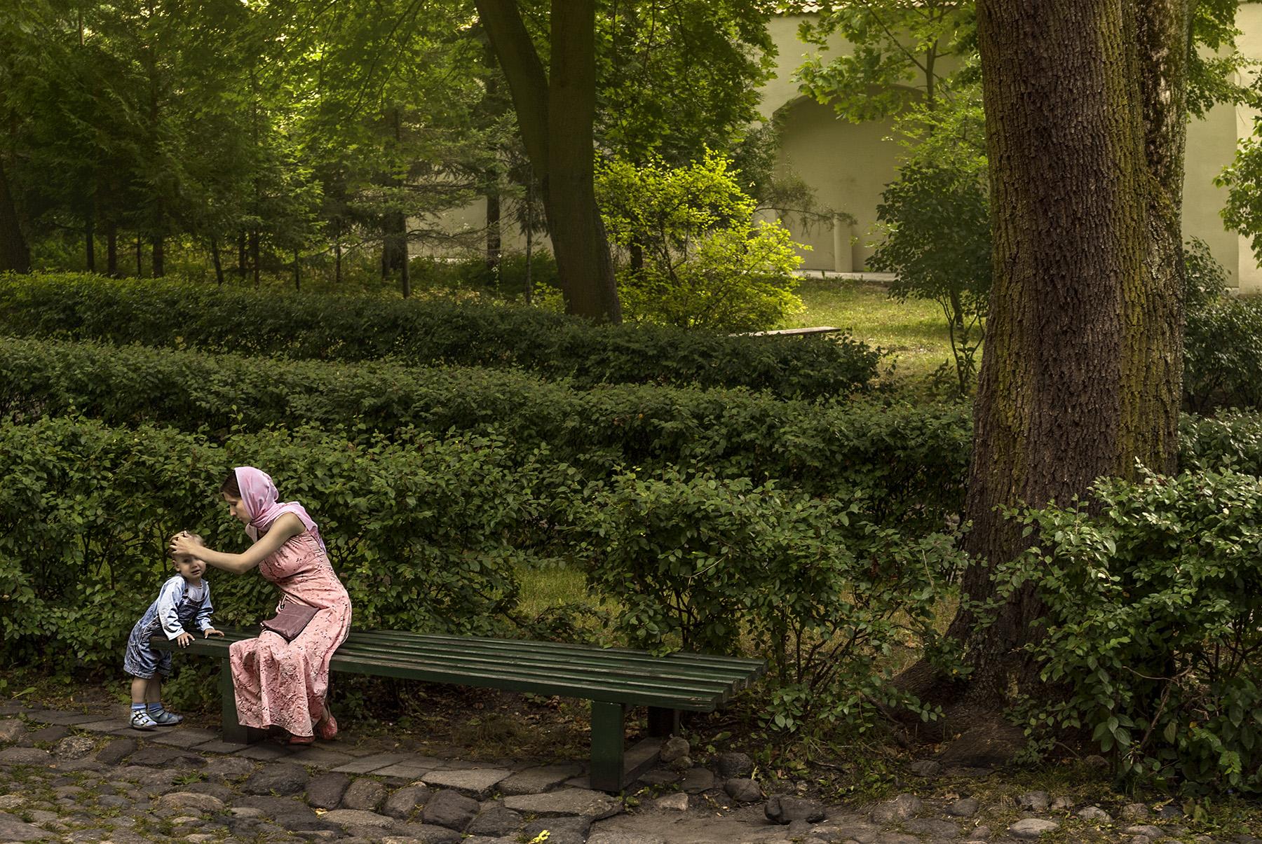 The enchanted garden (Vilnus, Lituania)