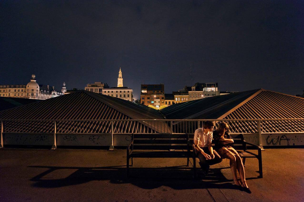 A night in Antwerpen (Belgium)