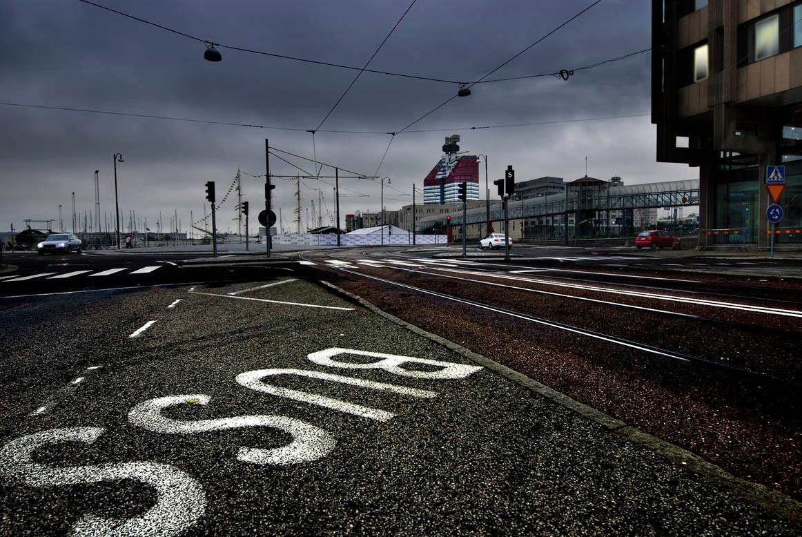 Complicated city (Goteborg, Sweden)