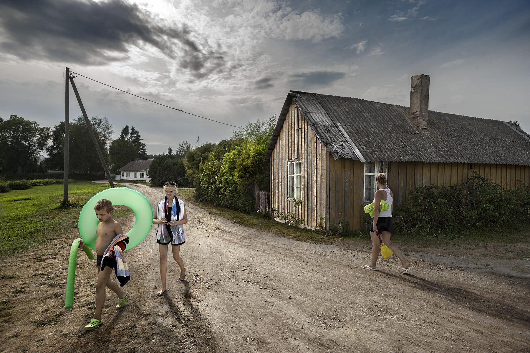 Summer day. Kasmu. Estonia