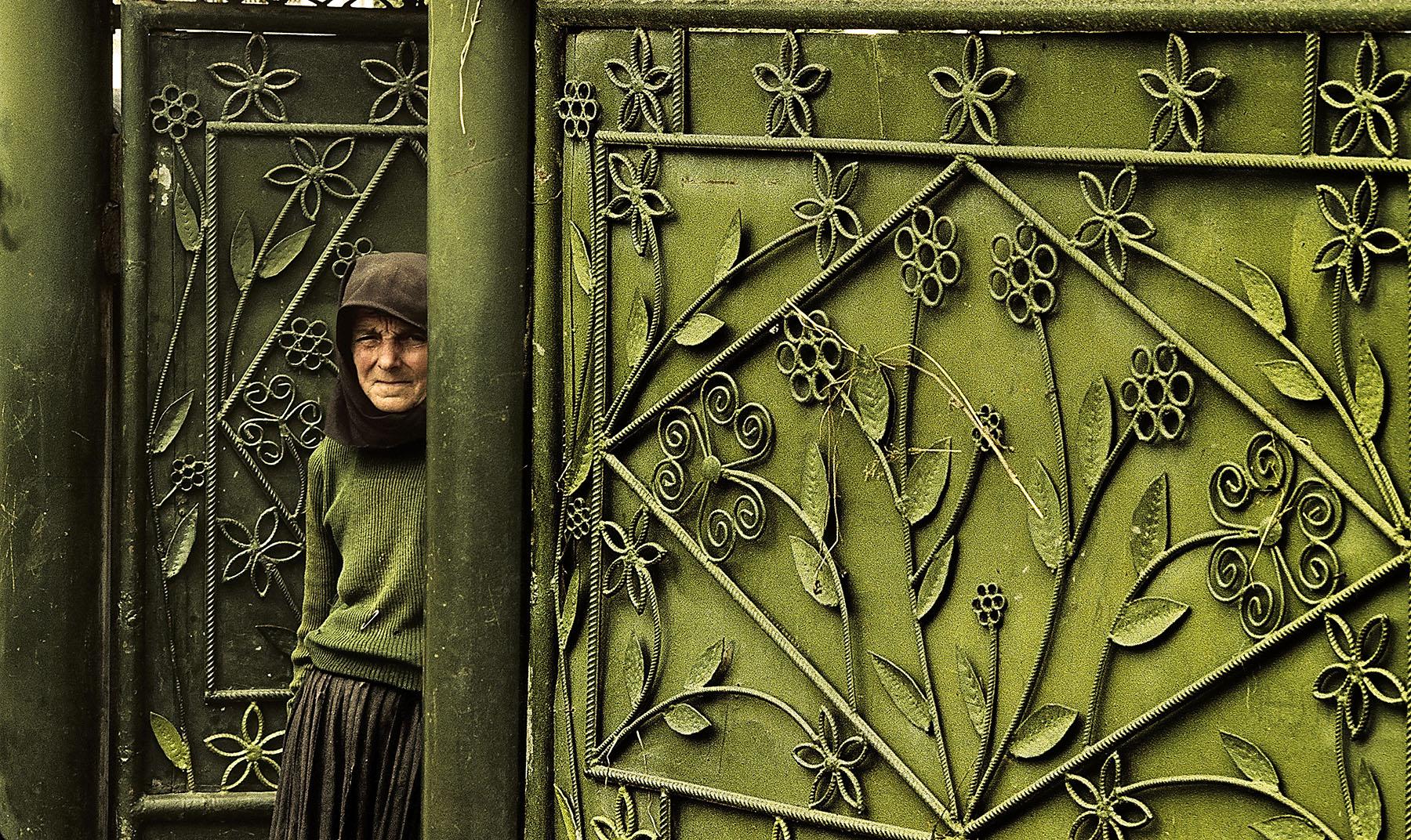 The green gate - Romania