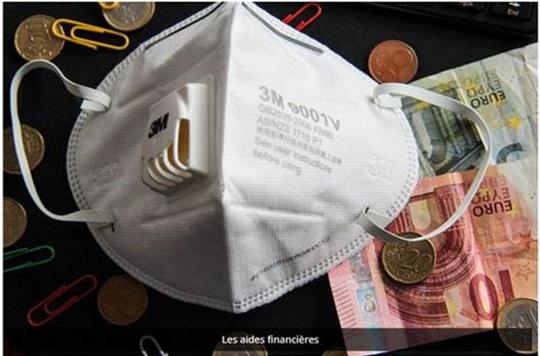 Coronavirus covid19 aides financieres prime état région urssaf 1500€ CMA34 autoentrepreneur