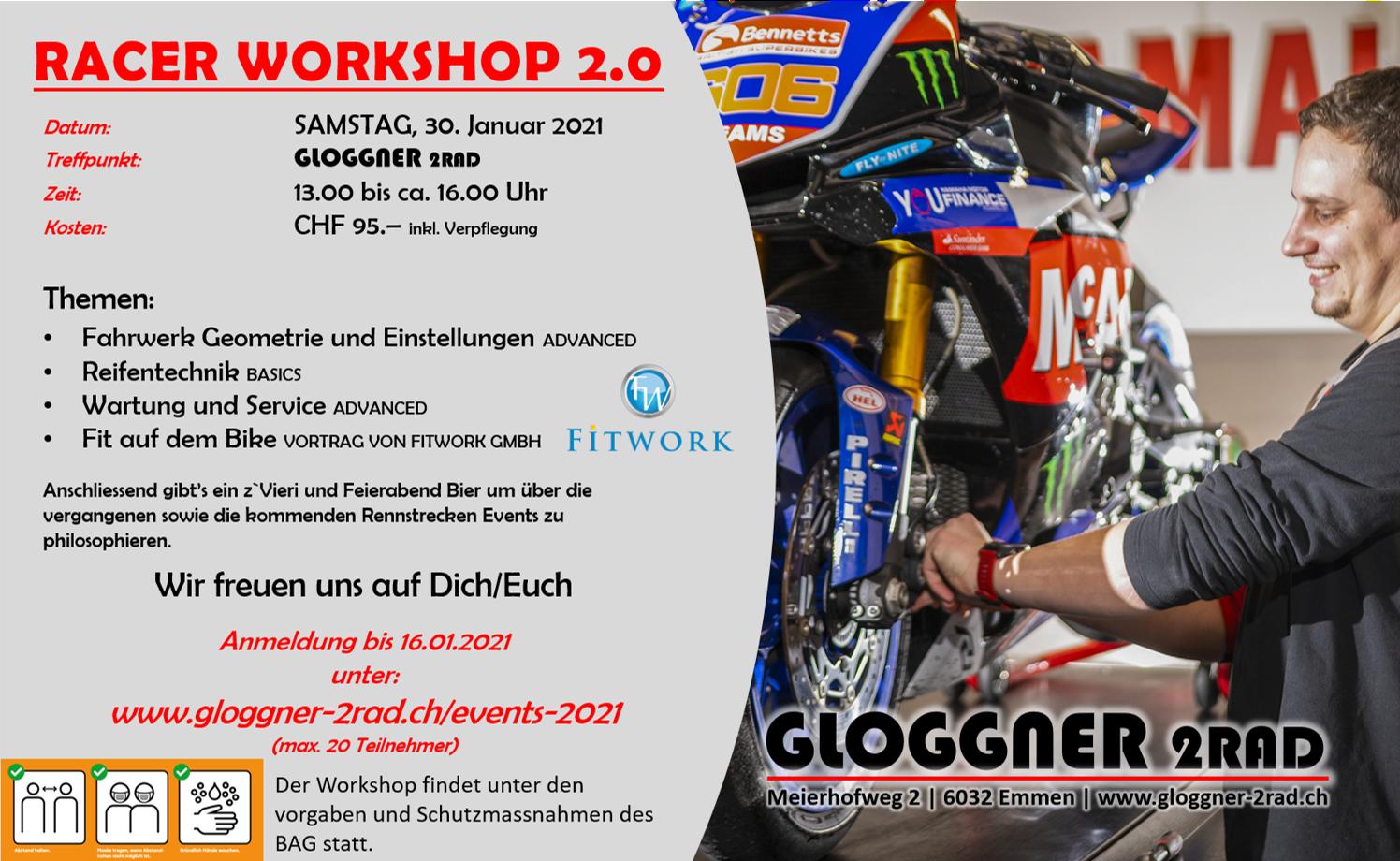 Racer Workshop 2.0