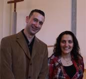 Rami Ziadeh und Angel Shammas